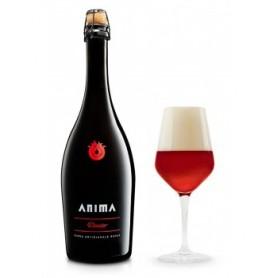 Birra Artigianale Anima - Dante - rossa doppio malto 6 bottiglie da cl 75