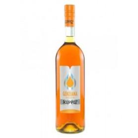Genziana secca Scuppoz - bottiglia da Lt 1